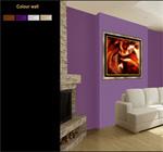 Примерка картин на стену